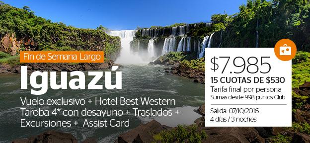 Paquete Iguazú