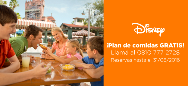 Plan de comidas Disney New 2