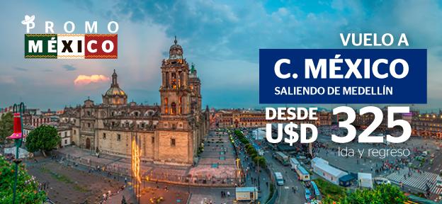 Medellín- Ciudad de México