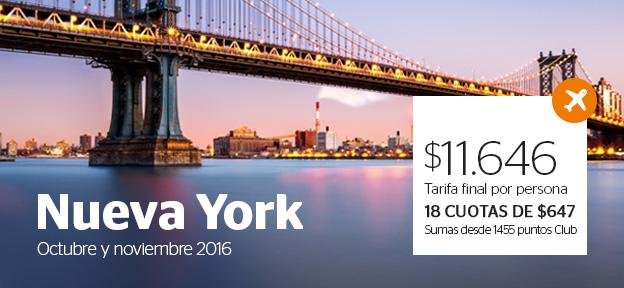 Vuelo Nueva York