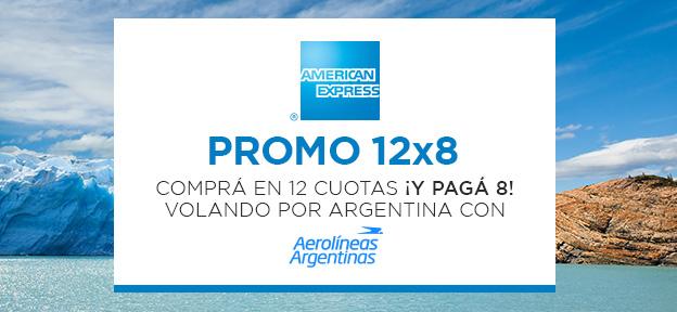 Aerolineas 12×8 AMEX