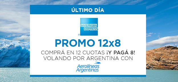 Aerolineas 12×8 AMEX UD