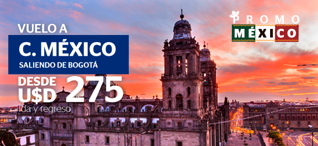 Bogotá – Ciudad de México