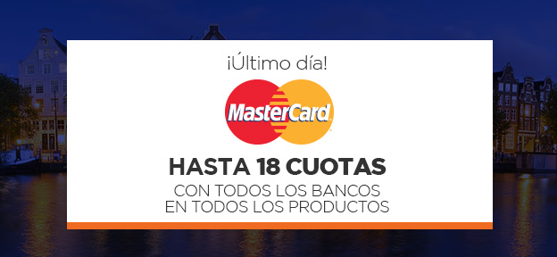 18 MasterCard Último dia