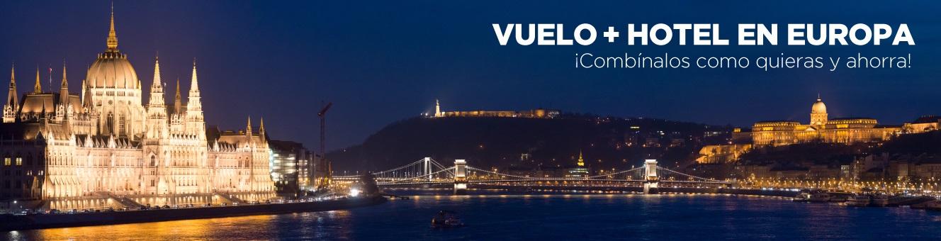 Vuelo + Hotel a Europa desde Colombia